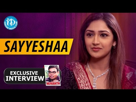 Xxx Mp4 Actress Sayyeshaa Exclusive Interview Talking Movies With IDream 35 3gp Sex