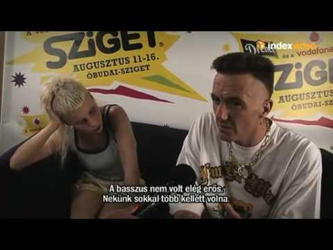 Die Antwoord Interview - SZIGET