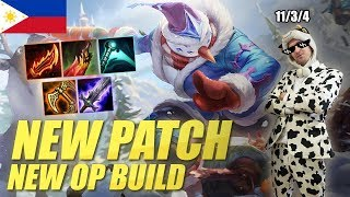 NEW OP MASTER YI BUILD! PHILIPPINES SERVER COULDN