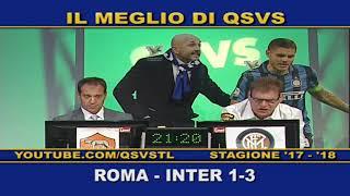 QSVS I GOL DI ROMA - INTER  1-3 TELELOMBARDIA / TOP CALCIO 24