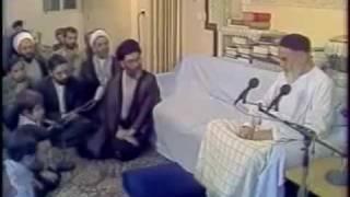 پیش بینی های امام در مورد احمدی نژاد