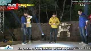Running Man Ep 144 Eng Sub - Guest  Cha In-pyo, Ricky Kim and Seo Jang-hoon