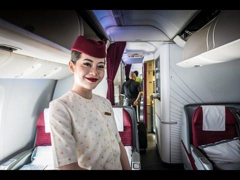 Qatar Airways Polar Flight Longest Duration Non Stop LAX DOH