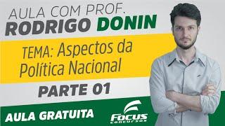 Atualidades | Aspectos da Política Nacional | Rodrigo Donin | Parte 1