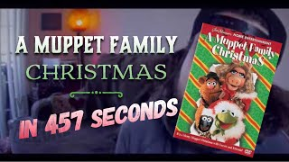 A Muppet Family Christmas in 457 Seconds (by @mikefalzone)
