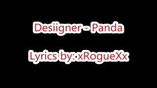 Desiigner - Panda (Lyrics on Screen)
