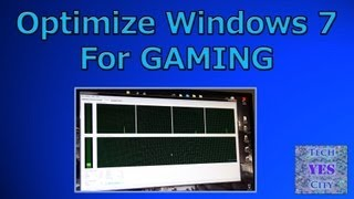 How to Optimize Windows 7 For GAMING