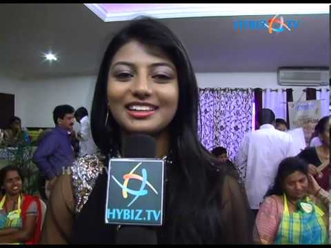 Actress hasika  at cookery contest-2013