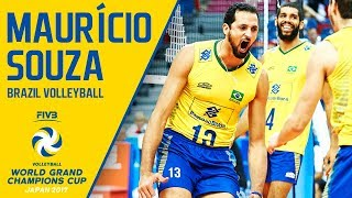 Mauricio Souza | Volleyball Highlights | Champions Cup 2017