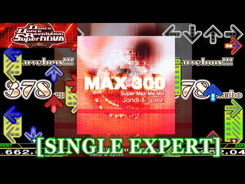 【DDR】MAX 300 (Super-Max-Me Mix)  [SINGLE EXPERT] 譜面確認+クラップ