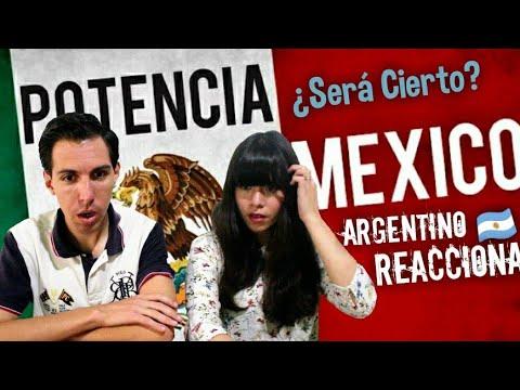 Argentino Reacciona🤷🏻♂️🤷🏻♀️ a ¿Mexico es potencia ¿Será cierto 🌐 MEXICO ARGENTINA