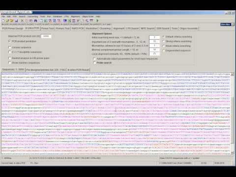 In silico PCR with FastPCR