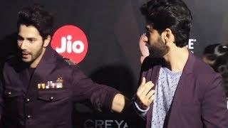 Varun Dhawan Ignores Harshvardhan Kapoor At GQ Best Dressed Awards 2017