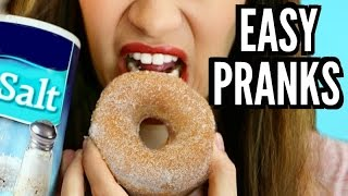 13 EASY PRANKS FOR FRIENDS & FAMILY!!!