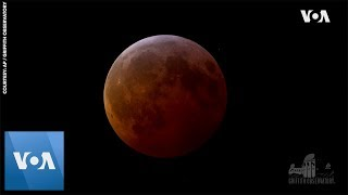 Total Lunar Eclipse Coincides with Supermoon
