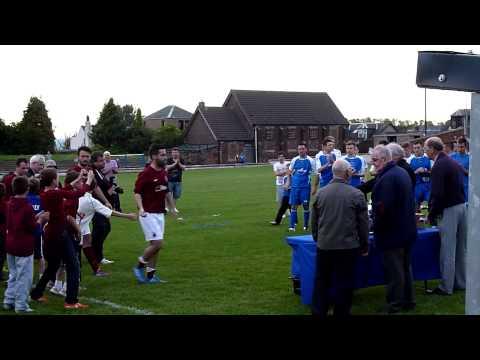 Bo'ness United v Linlithgow Rose - 06/06/14 - Presentation