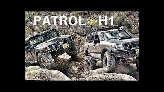 تحدي 4X4 : نيسان باترول ⚡️  همر H1