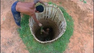 Primitive Technology  Make Bed Shed   Double-storey House  Updated Underground House