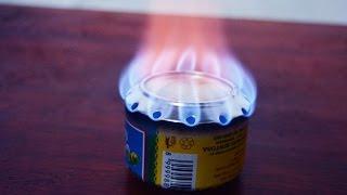membuat kompor spirtus sederhana / how to make alcohol stove