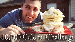 """10,000 Calorie Food Challenge / The """"Rock's Legendary Cheat Day"""" Variation"""