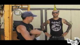 The Casualties - Jake Kolatis Interview (Warped Tour 2010)