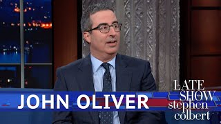 John Oliver Got To Meet Beyoncé... Kind Of