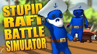 تحميل لعبة حرب المراكب و القراصنة Stupid Raft Battle Simulator | مجانا بحجم صغير + اونلاين