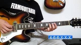 Como Tocar Wasting Time de Blink 182 - COMPLETO - FermiGuitarra