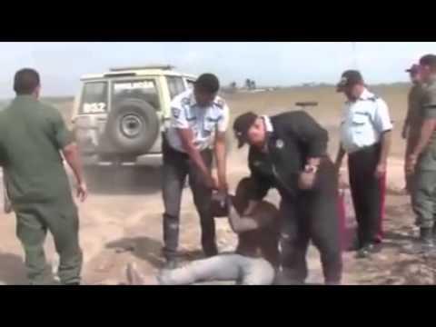guardia nacional bolivariana pelea contra campesinos en apure venezuela