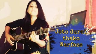 Joto Durei Thako | Warfaze | Cover By Tumpa |