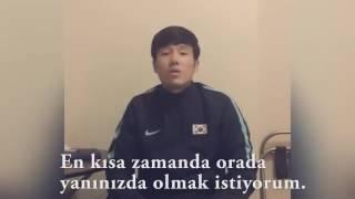 Hyun-Jun Suk'tan taraftarımıza mesaj var