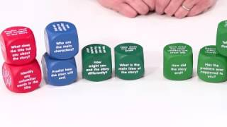 Reading Comprehension Cubes and Retell A Story Cubes