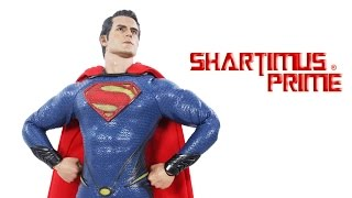 Hot Toys Superman Man of Steel Movie Masterpiece 1:6 Scale Collectible Figure Review