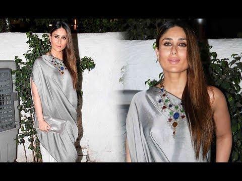 Kareena Kapoor Oops Moment At Ki And Ka Movie Success Party