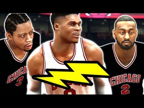 watch Can A Team Of The Fastest Players Of All Time Win A Championship? NBA 2K17 Challenge