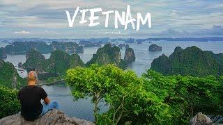 Die Halong Bucht von oben und unten | Backpacking Vietnam | VLOG #39