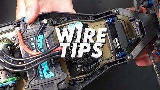 HOW TO SHORTEN WIRES || Servo wires, ESC Wires