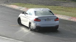 Straight Piped BMW M240i DRIFTING on Nürburgring!
