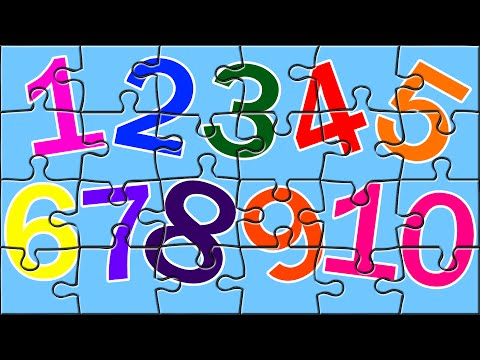 Learn Numbers With Color Book Puzzles Number Song Color Song Kids Puzzles