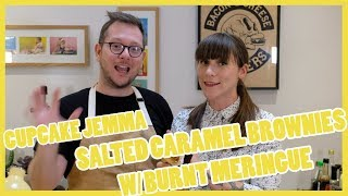 Salted Caramel Brownies with Cupcake Jemma- The Boy Who Bakes