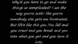 Avril Lavinge-Complicated with lyrics
