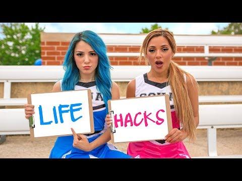 Xxx Mp4 Back To School Life Hacks For Girls Niki And Gabi 3gp Sex