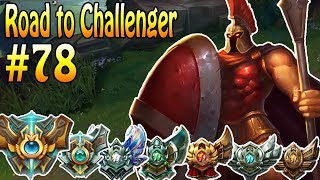 Pantheon vs Shyvanna - Road to Challenger #78 | MrMaikAp