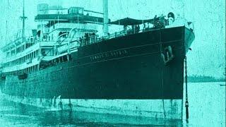 Rare early film of Italian emigrants sailing to Rio de Janeiro, Brazil over 100 years ago