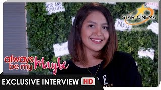 Jane Oineza defines 'Maybe' Love, 'Pa Fall' + more | 'Always Be My Maybe'