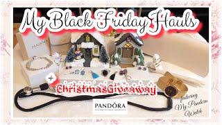 VlogMasLive: FierceZhai Pandora Christmas Giveaway + My Pandora Black Friday Haul & My Pandora Watch
