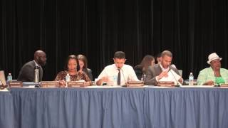 CCSD Board od Education, Special Meeting, May 2017