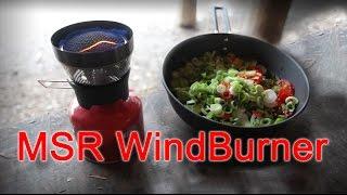 Test af MSR WindBurner med 1,8 liter pot og pande