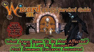 Wizard101 DDOS Survival Guide - Hardest Hit Areas - Most Common Questions