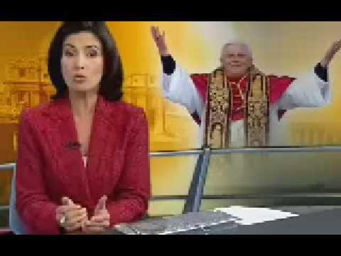 Conclave escolhe Joseph Ratzinger que adota o nome de Bento XVI